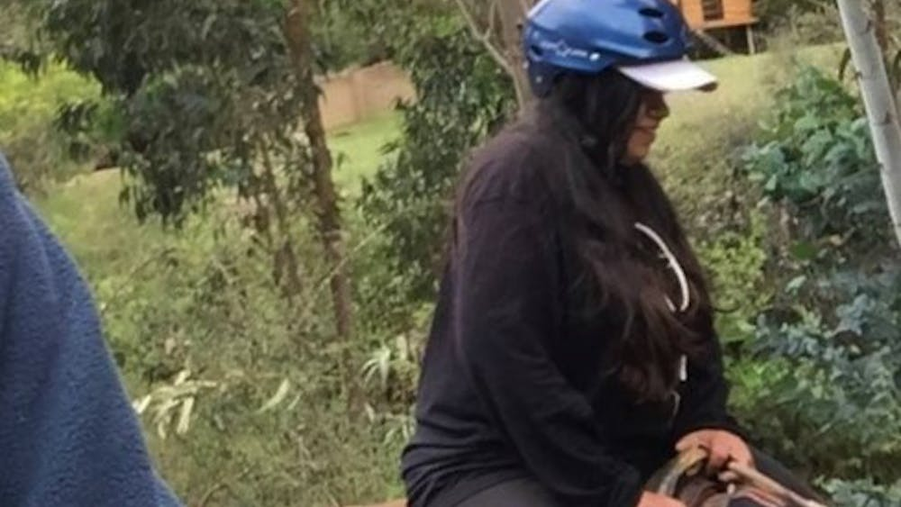 COURTESY OF DIVA PAREKH A horseback riding fall taught Parekh the value of prioritizing her health.