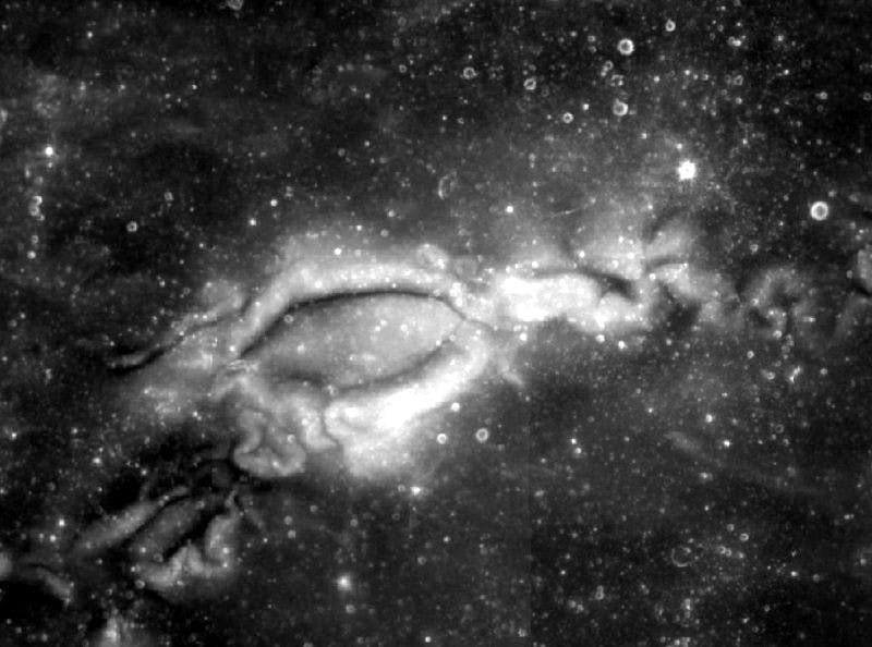 Public Domain Lunar swirls may be a sign that the moon contains lava tubes that trapped an electric field.