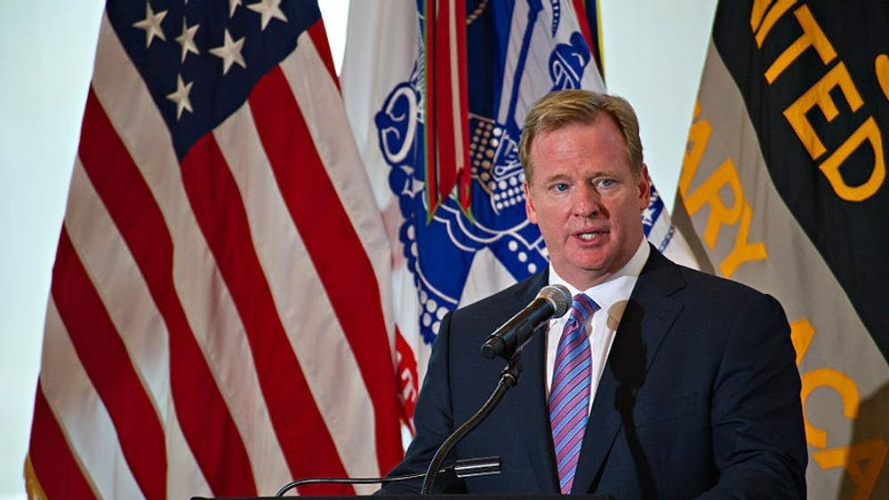 SSG TEDDY WADE/CC BY 2.0 Commissioner Roger Goodell has defended the new CBA changes.
