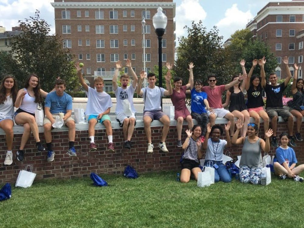 FILE PHOTO Three years out from their orientation (pictured above), the class of '22 has a lot of tips to share.