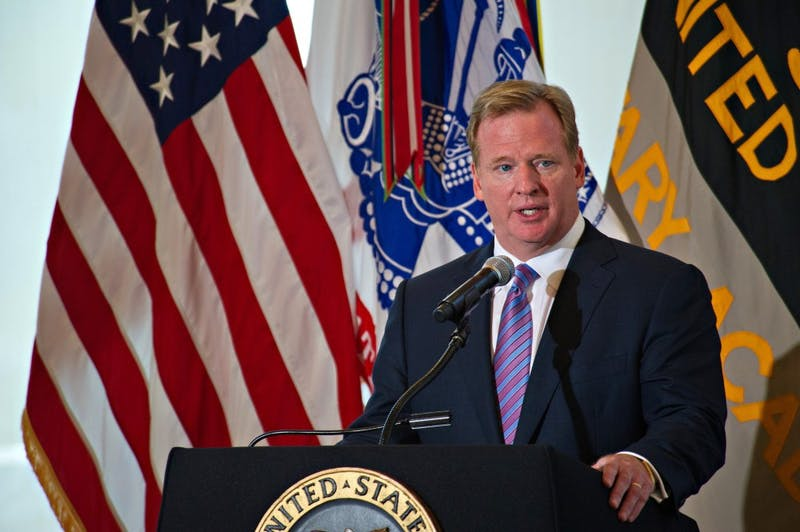SSG Teddy Wade  Roger Goodell and the NFL have mishandled domestic violence cases.