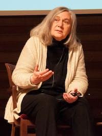 Christian scott heinen bEll/CC0 1.0 Marilynne Robinson read from two of her novels in Hodson Hall.