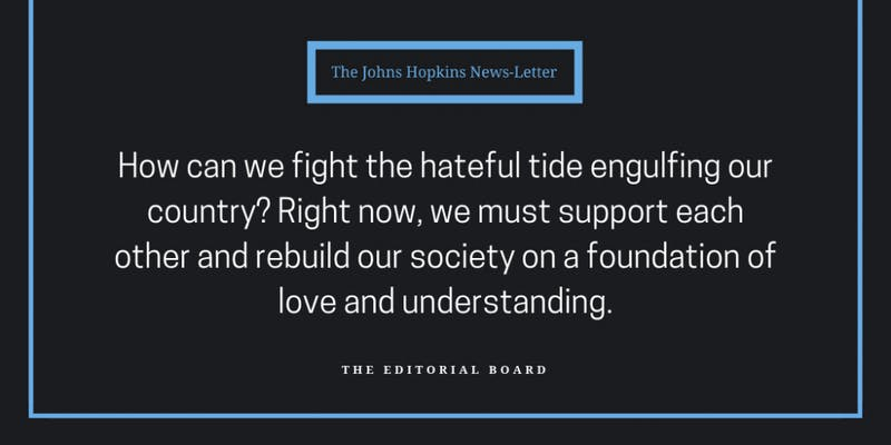 fighting hate editorial