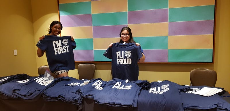 COURTESY OF FELICIA PETTERWAY The FLI event on Tuesday prepared FLI students to use alumni networks.