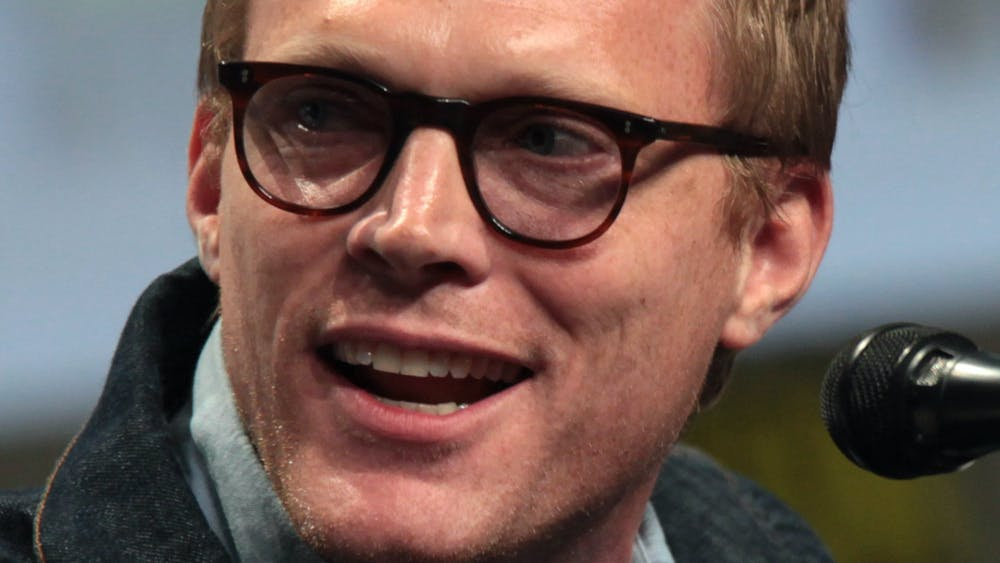 GAGE SKIDMORE/CC BY-SA 3.0 Paul Bettany plays both versions of the character Vision in WandaVision.