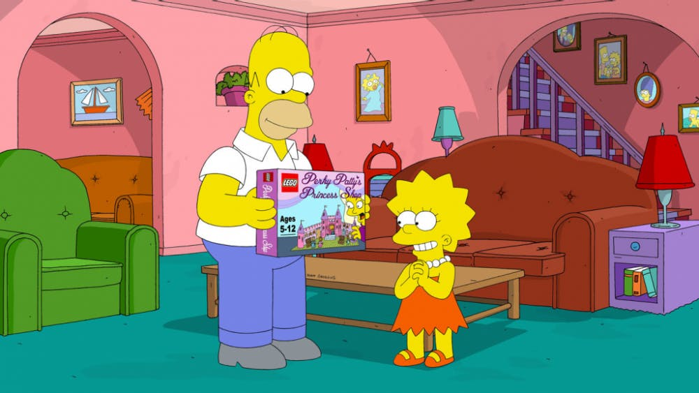Bill Toenjes/CC BY-NC-ND 2.0   Lisa Simpson became vegetarian in an episode of The Simpsons.