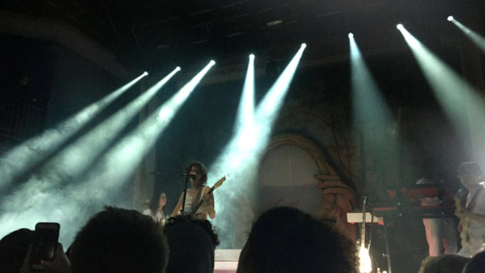 COURTESY OF ELIZA ZIMMERMAN King Princess' intimate show at the 9:30 Club in D.C. featured inventive makeup, props and sets.