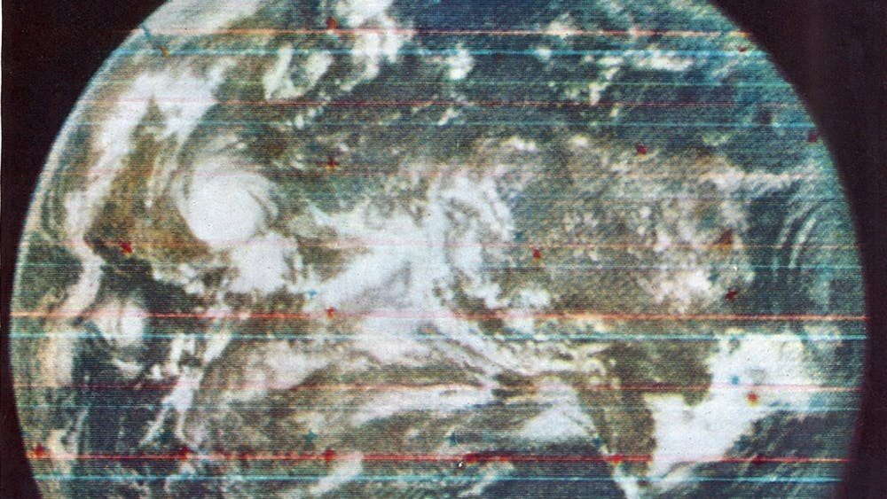 Public domain In 1967, the APL captured the first color photo of the earth from space.