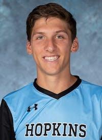 HOPKINSSPORTS.COM Junior defender Connor Jacobs.