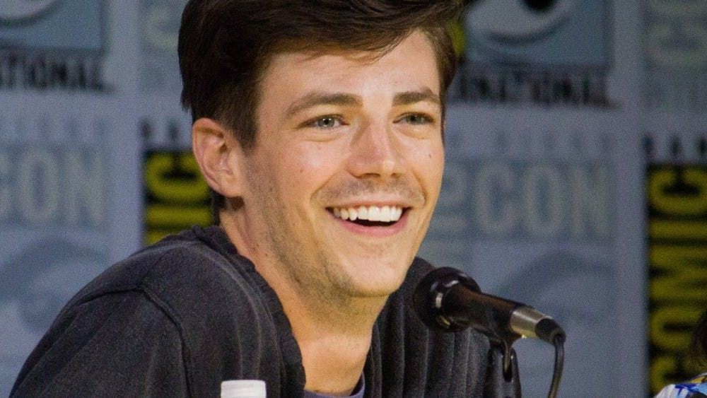 COURTESY OF VAGUEONTHEHOW Grant Gustin plays Barry Allen, the protagonist, on The CW's The Flash.