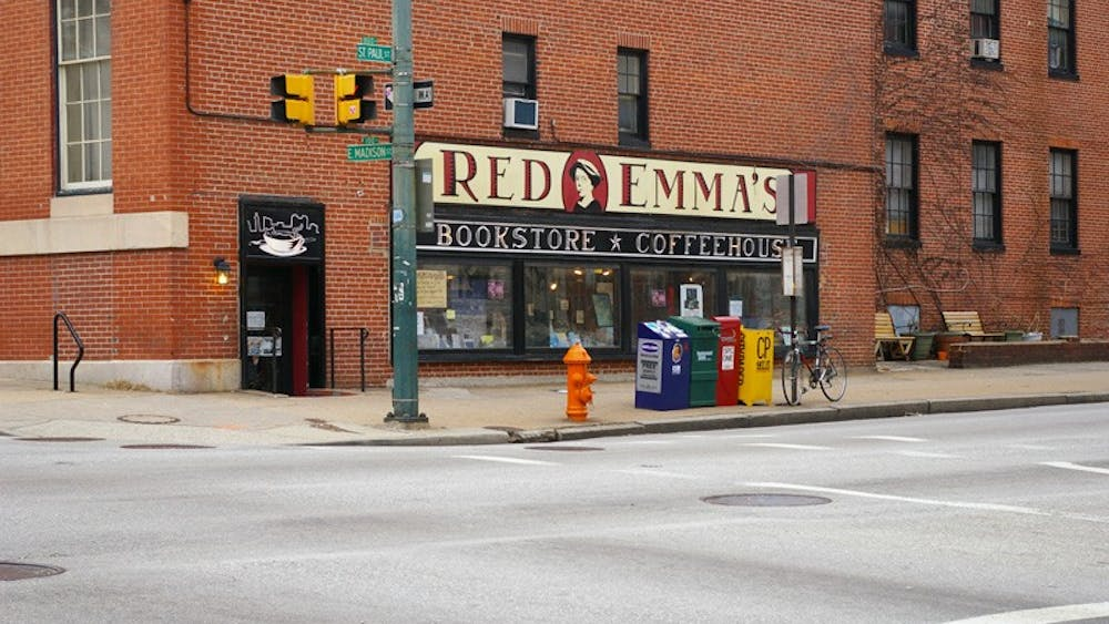 FionaBearclaw/cC BY 2.0 Not just a bookshop: Red Emmas also offers great, sustainable vegan food.