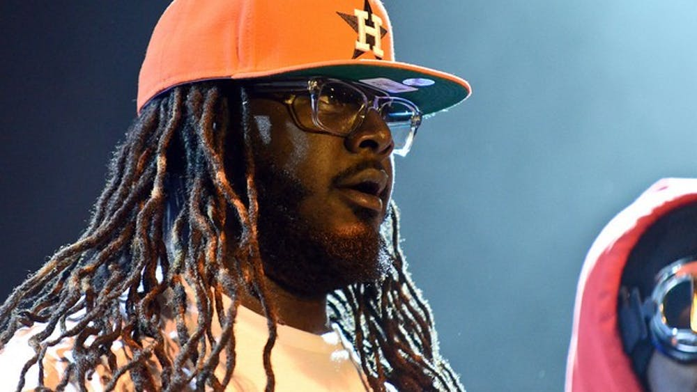 Will Folsom/cc by-sa 2.0 T-Pain returned to Baltimore after 17 years with old hits and newer songs.