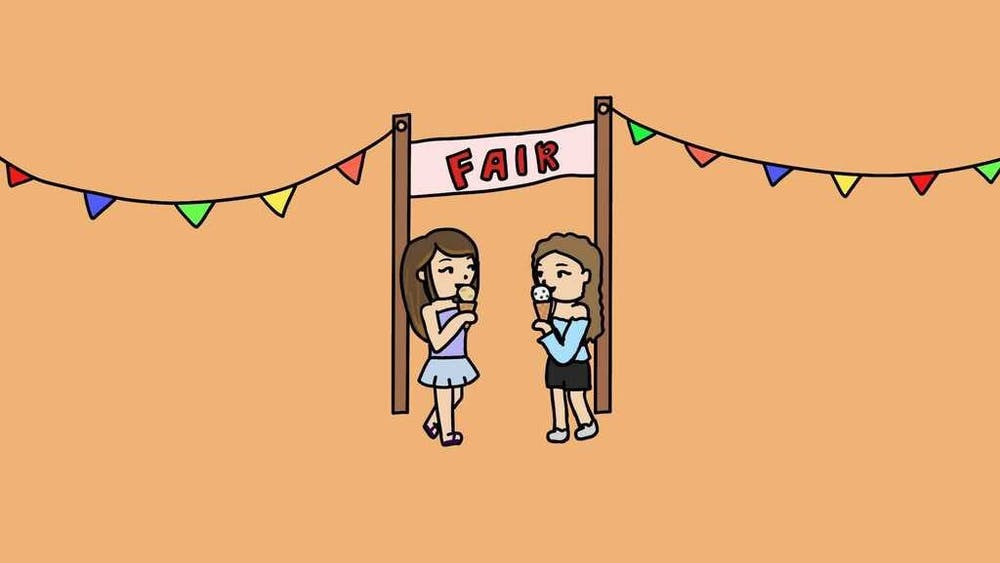 COURTESY OF ROSIE JANG Don't let finals keep you from enjoying fun events with your friends.