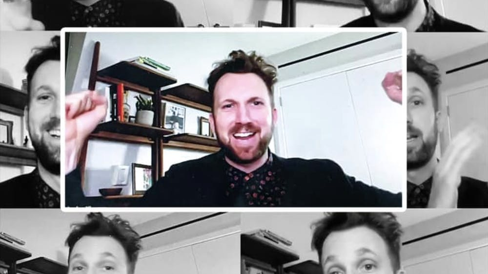 COURTESY OF CINDY CHO Jordan Klepper discussed how politics has shaped comedy in the past few years.