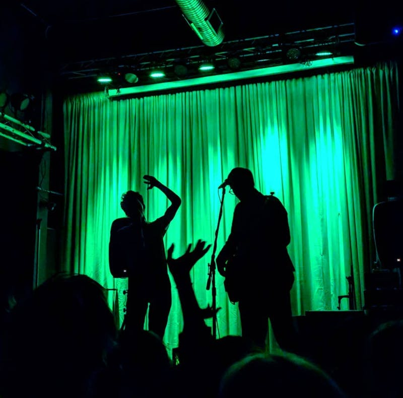 Courtesy of Will Scerbo Ed Schrader and Music Beat put on a high-energy show at Metro Gallery on March 2.