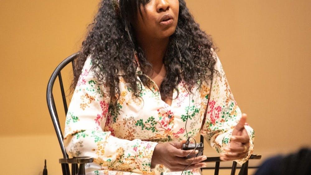 Erlendy Cuero Bravo advocates for human rights in Columbia.  EDA INCEKARA/PHOTO EDITOR