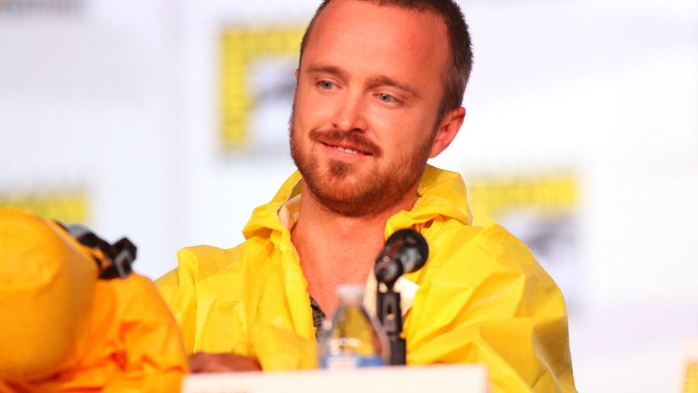 GAGE SKIDMORE/CC BY-SA 2.0 Aaron Paul reprises his role as Jesse Pinkman, one of the main characters of Breaking Bad.