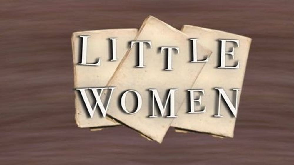 COURTESY OF CAROLINE COLVIN & SANDY CLANCY The Barnstormers' audio-only production of Little Women, adapted by Marisha Chamberlain, is available through Broadway on Demand.
