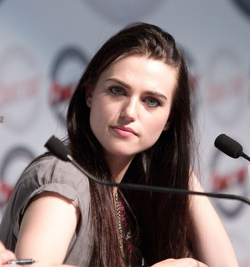 GEORGES SEGUIN/CC BY-SA 3.0 Katie McGrath's Lena Luthor is reminiscent of her Merlin character Morgana Pendragon.
