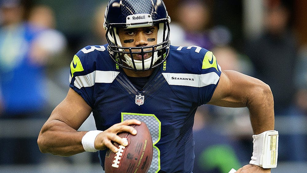 CC BY 2.0/Larry Maurer Russell Wilson is one of the quarterbacks who expressed mild disinterest in his situation during the offseason.