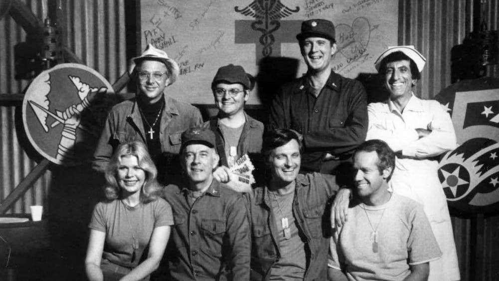 PUBLIC DOMAIN Anna found comfort in binge-watching the show M*A*S*H, which was filmed in California.