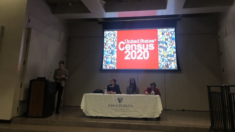 COURTESY OF CHRIS PARK Speakers discussed why students should register for the 2020 Census.