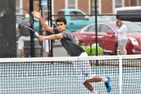 hopkinssports.com  The men's tennis team won against RPI and Muhlenberg Saturday.