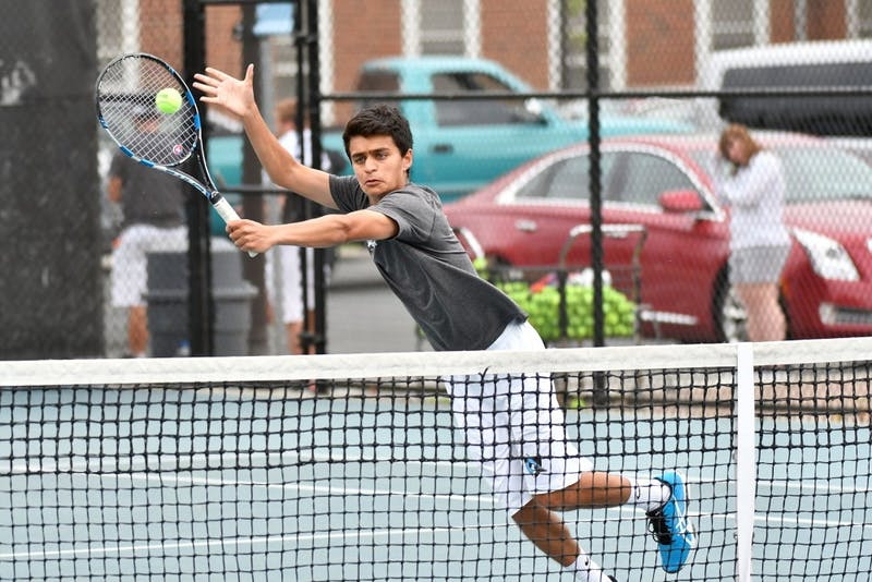 hopkinssports.com  The men's tennis team won against RPI and Muhlenberg Saturday.