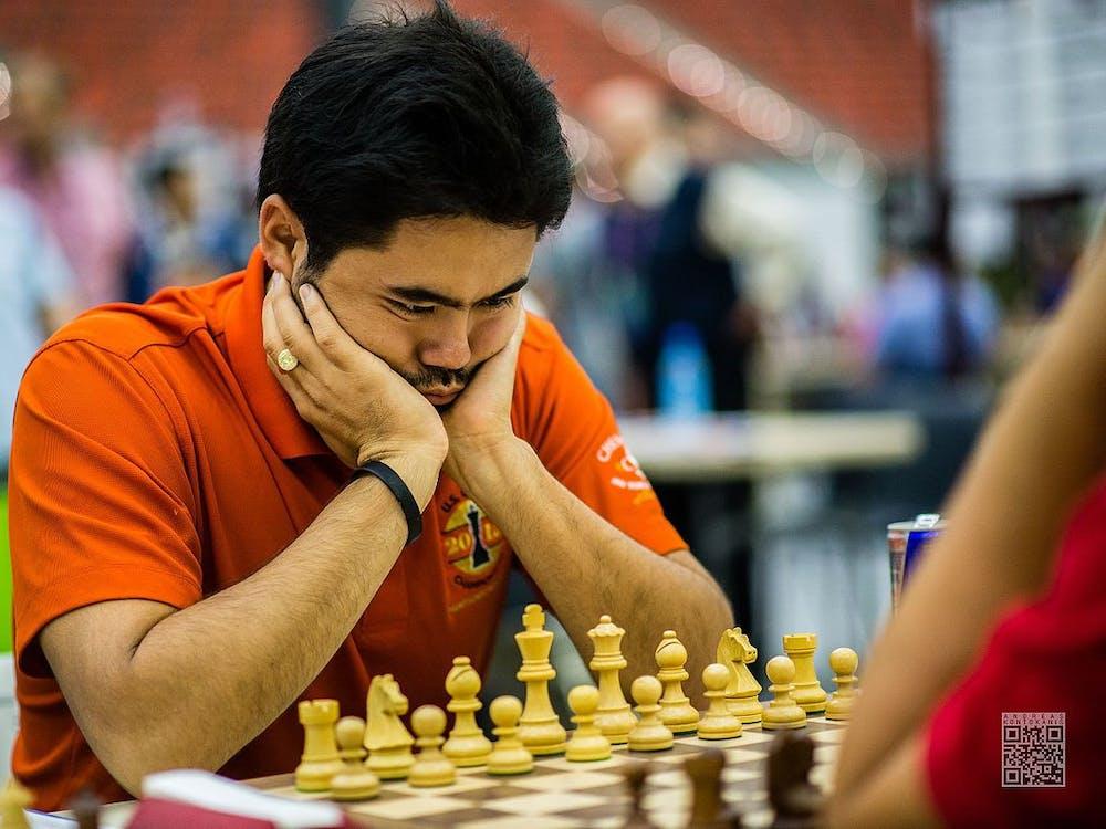 ANDREAS KONTOKANIS / CC BY-SA Hikaru Nakamura is a five-time U.S. chess champion.