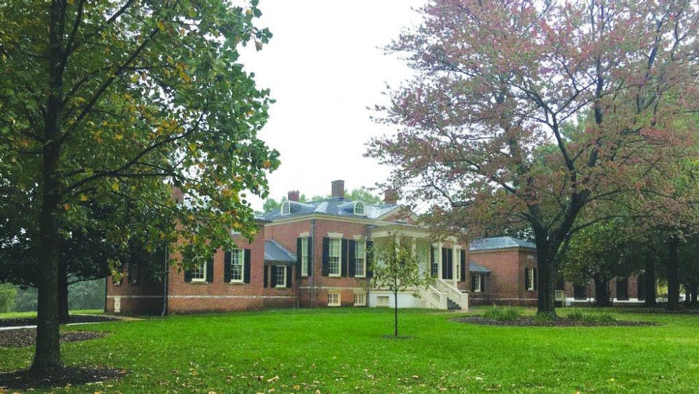 FILE PHOTO  Spanier discovered that the Homewood House, pictured above, had an escape route leading from its basement.
