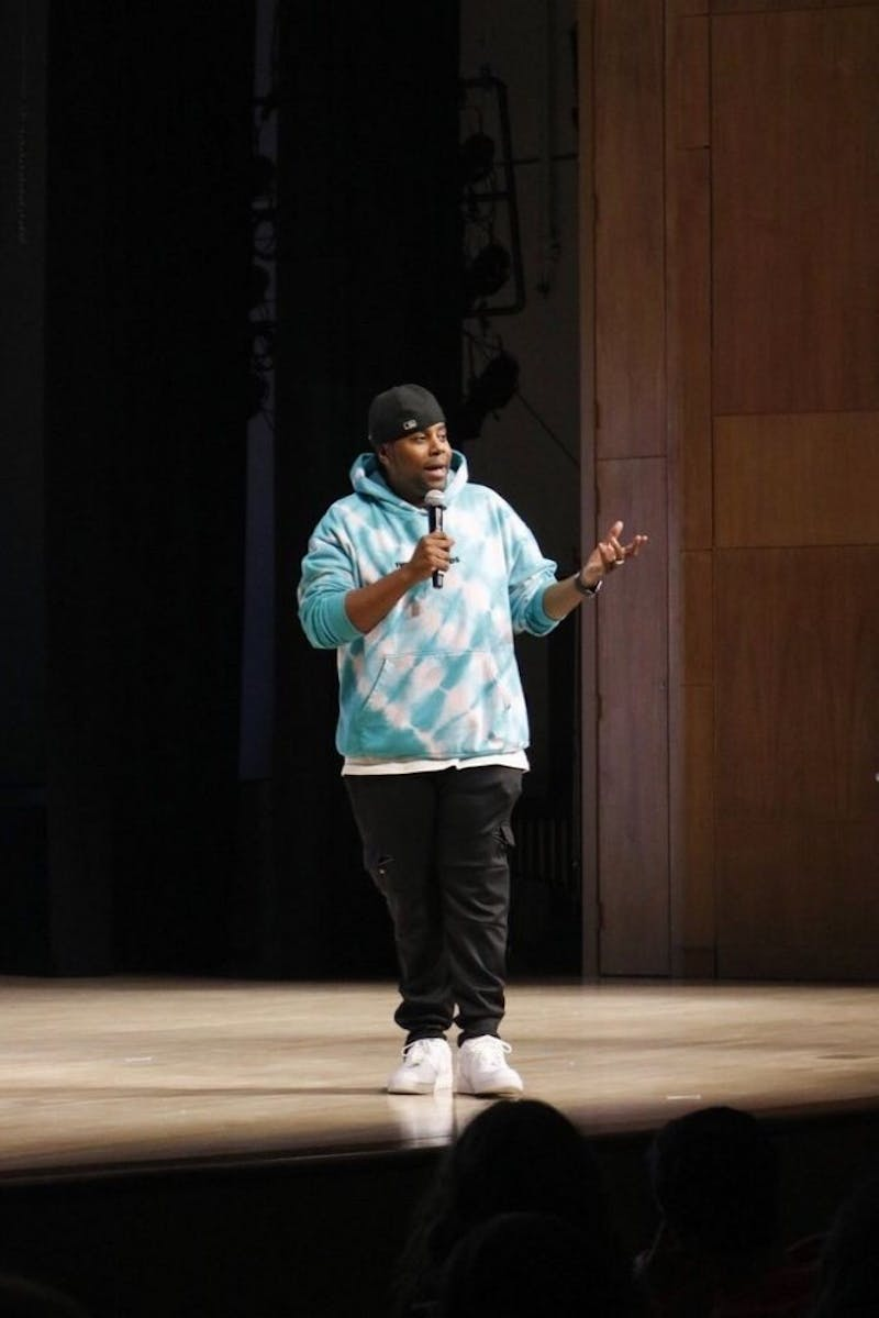 Saturday Night Live cast member Kenan Thompson recounts his childhood upbringing and path to success.