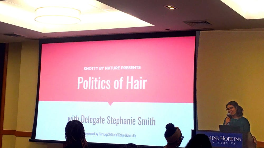 COURTESY OF MICHELLE LIMPE Smith seeks to protect natural hair rights through anti-discrimination laws.