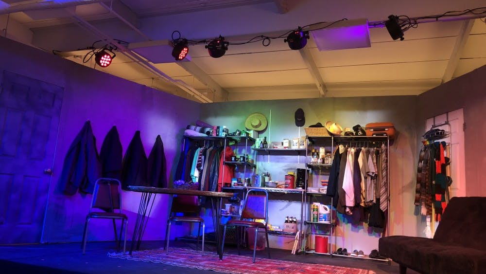 Courtesy of Rudy Malcom Third Wall Productions' In the Closet takes itself quite literally in the staging of the show.
