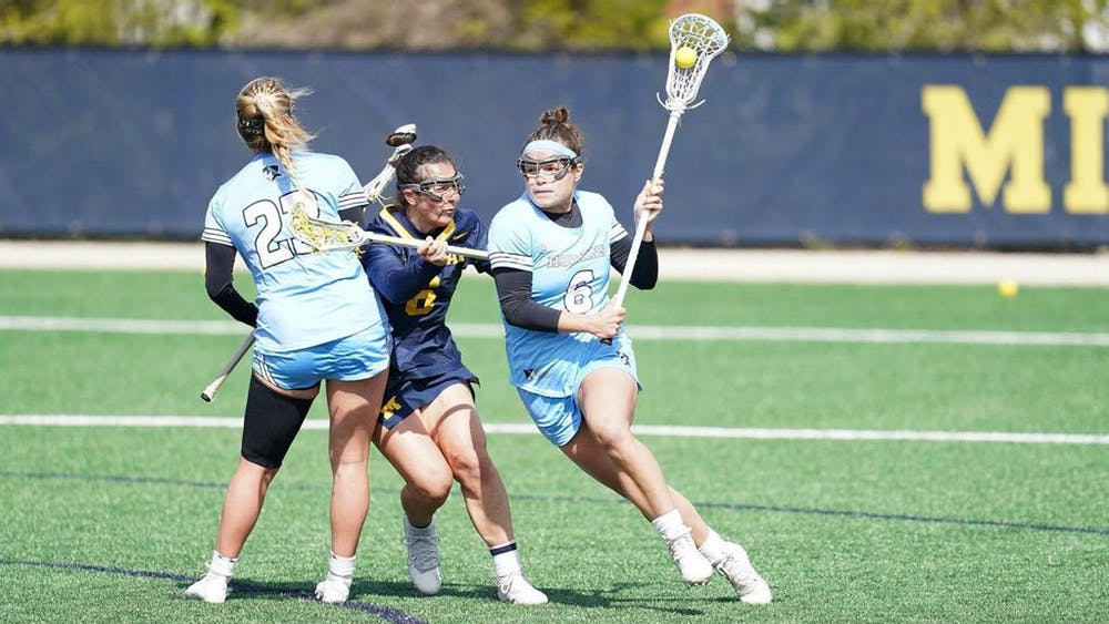 COURTESY OF HOPKINSSPORTS.COM The team swept the Big Ten weekly awards for the second time since 2017.
