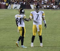 Keith Allison/CC BY-SA 2.0 Ben Roethlisberger and Antonio Brown are looking to win a Super Bowl.
