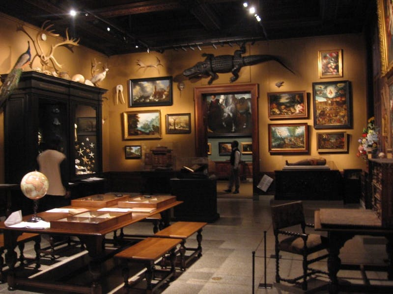 COURTESY OF A.CURRELL VIA FLICKR The Walters Chamber of Wonders, an ongoing exhibit, displays a more traditional form of taxidermy.