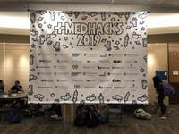 COURTESY OF JAKE LEFKOVITZ MedHacks hosted its annual Hackathon this weekend at the med campus.