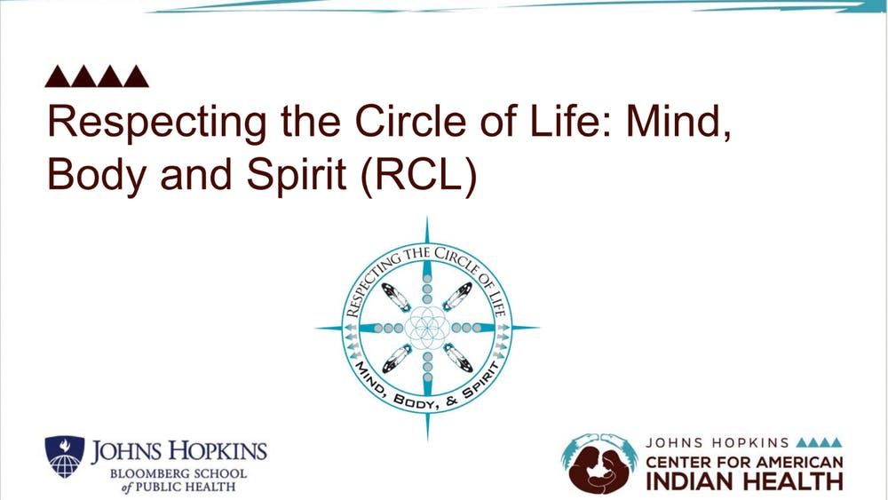 COURTESY OF LAURA TINGEY Respecting the Circle of Life is a sexual education program specifically tailored to Native youths.