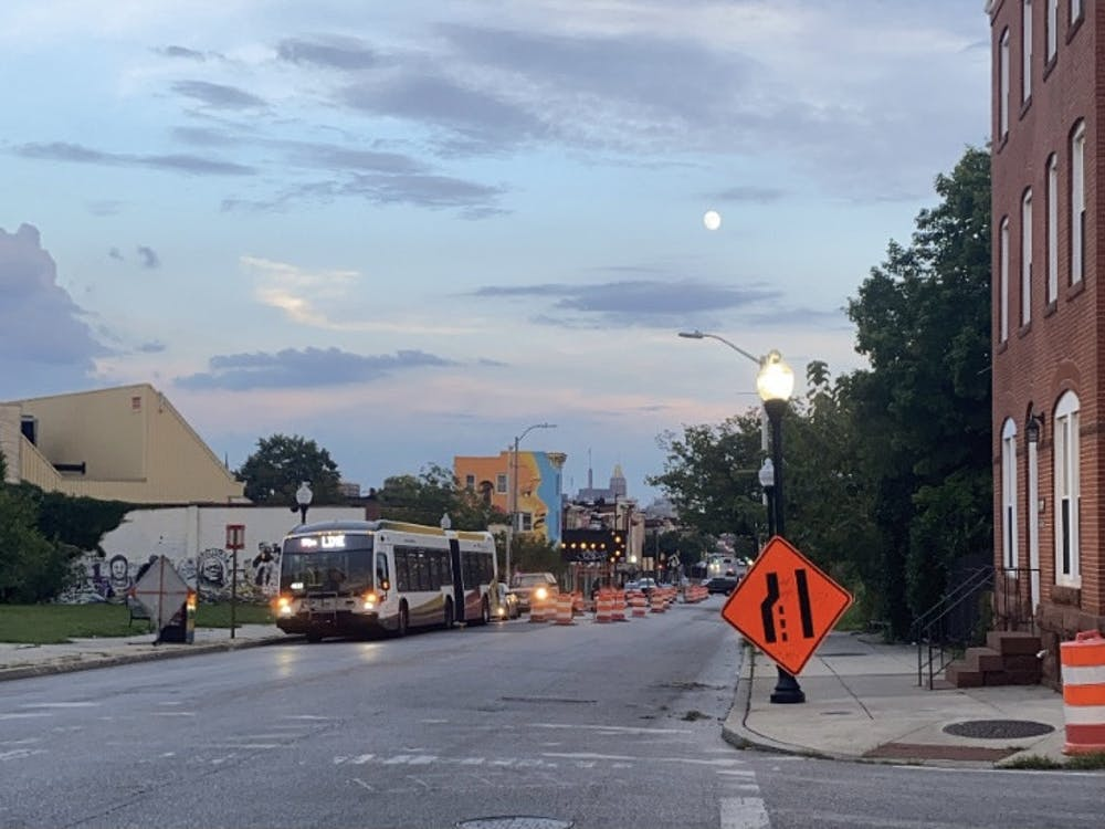 COURTESY OF LAURA WADSTEN   The Red Line light rail project would bridge West and East Baltimore.