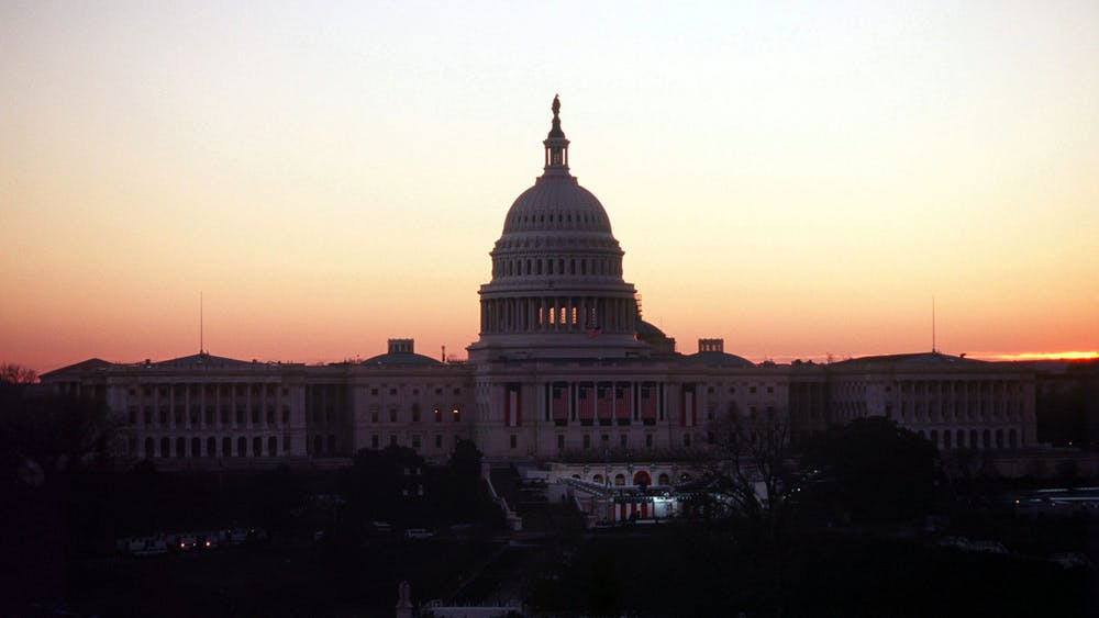 PUBLIC DOMAIN Rioters who stormed the Capitol building interrupted Congress' confirmation of the Electoral College results.