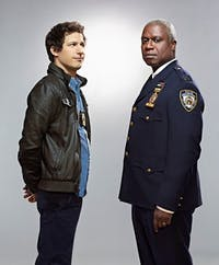 Tina Franklin/cc by-sa 2.0 Andy Samberg stars in NBC's Brooklyn 99, which covers topical issues.