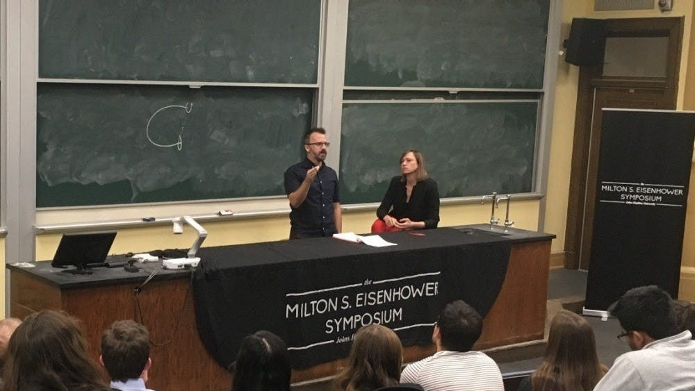 FILE PHOTO  Radical political theorist George Ciccariello-Maher spoke at the MSE event last week.