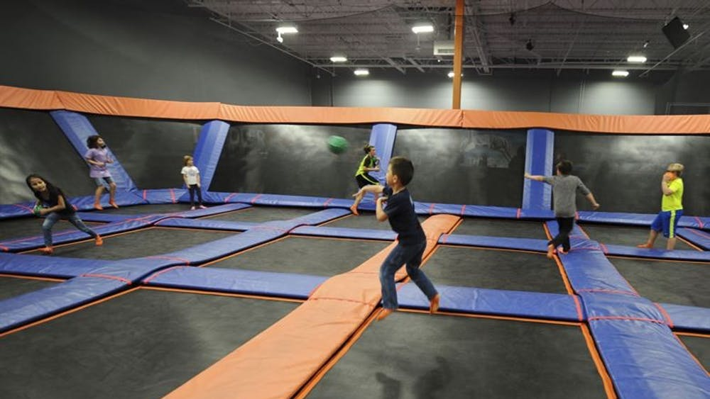 CC BY 2.0 Krystal M. Garrett/Kasie P. Whitfield Skyzone is full of fun bouncy times, reminding Chen of childhood times.