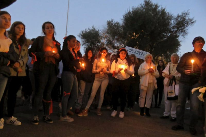Fabrice Florin/CC by SA-2.0 Students have started a movement of change in the aftermath of the Parkland shooting.