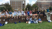 Courtesy of Julie Awad During Orientation Week, students bonded with each other and their First Year Mentors.