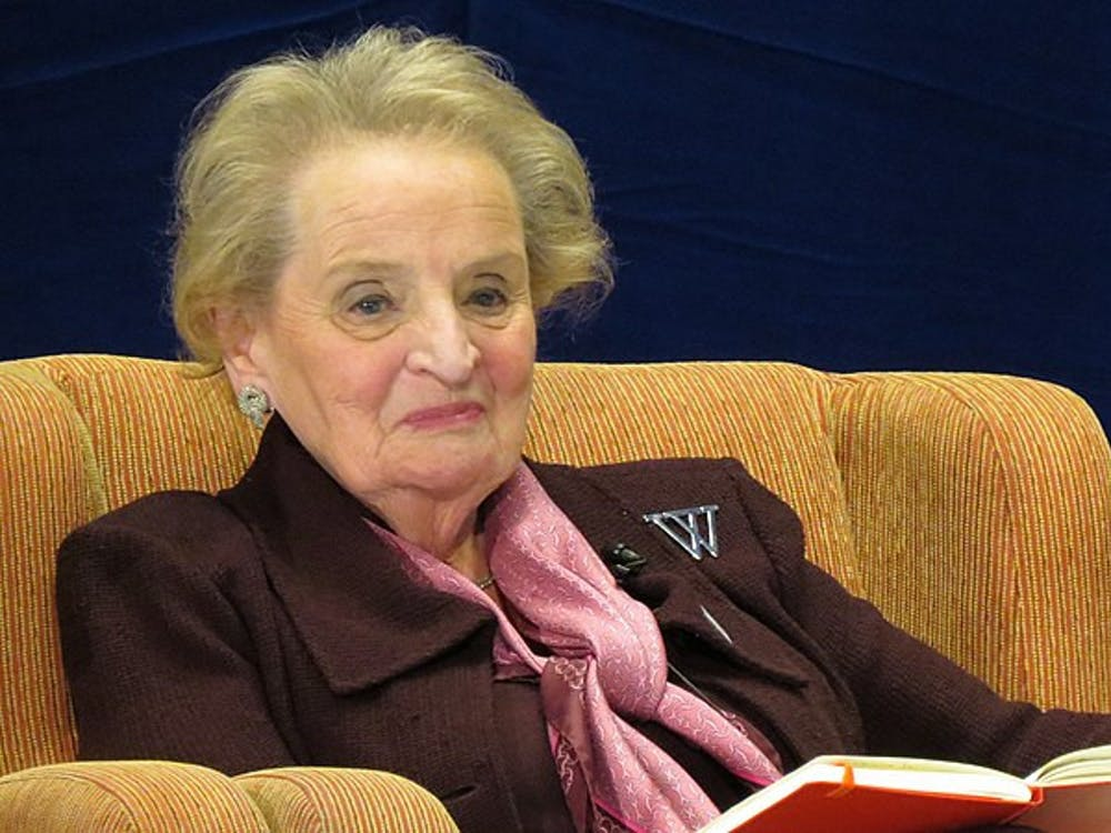 PUBLIC DOMAIN Madeleine Albright attended the Hopkins School of Advanced International Studies in the 1960s.