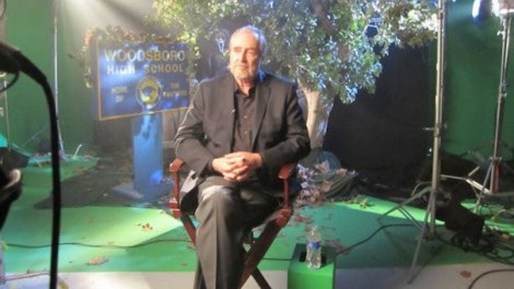 WIKIMEDIA.ORG Before delving into film, Wes Craven studied writing at Hopkins.