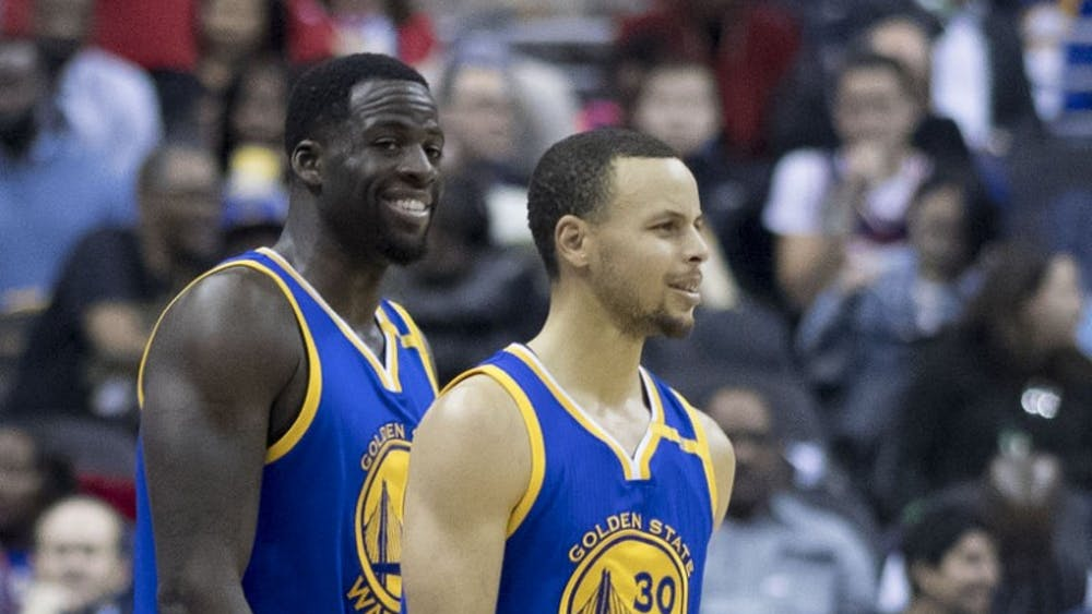 KEITH ALLISON/CC BY-SA 2.0 Draymond and Steph were winners before Durant joined them.