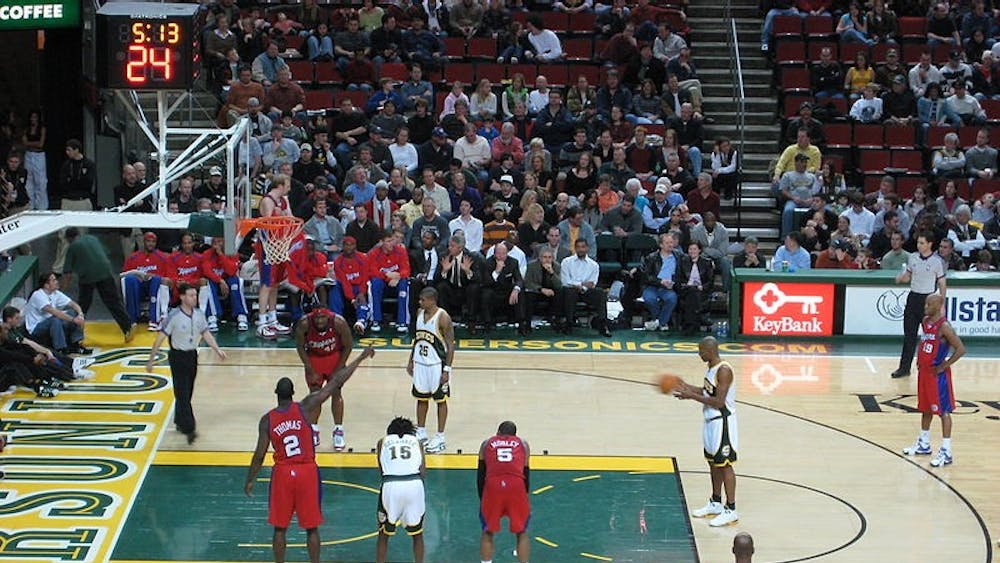 JEFF WILCOX/CC BY 2.0 Seattle is ready for the SuperSonics to return home.