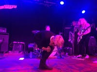 COURTESY OF MIA CAPOBIANCO Meredith Graves, frontwoman of punk group Perfect Pussy, gave an incredible performance at the Ottobar this past March.